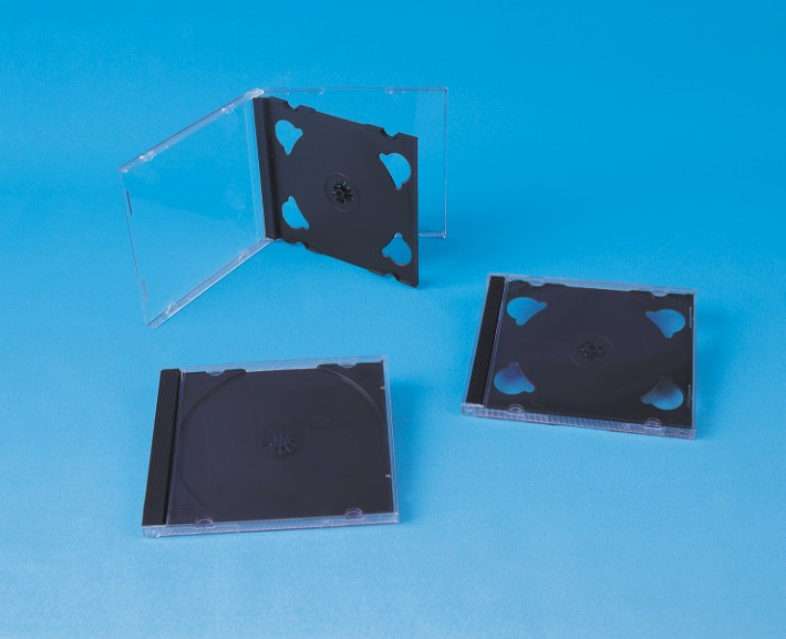10.4MM CD CASE WITH BLACK TRAY SINGLE/DOUBLE/TRIPLE(YDD-021)