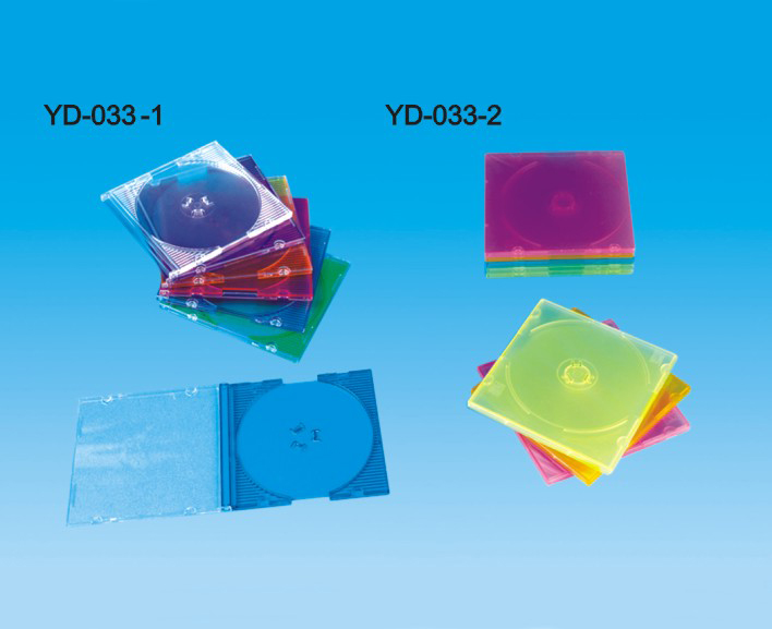 80MM small CD box, PS / PP material